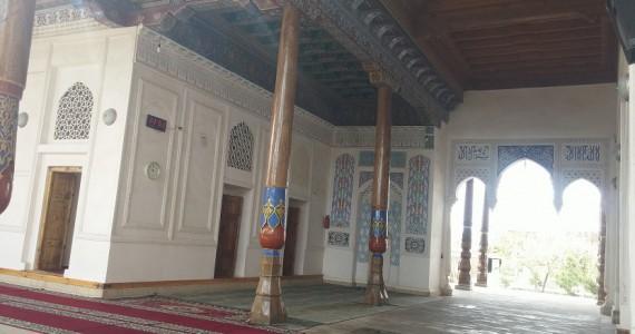 Айван мечети Абди-дарун