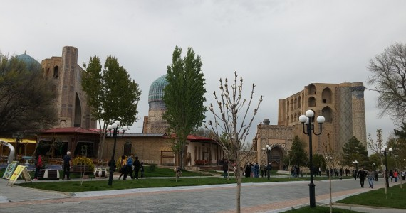 Биби-ханум с Ташкентской улицы
