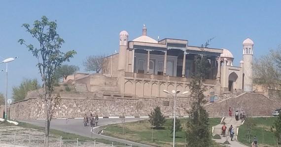 Мечеть Хазрет Хызр. Вид со стороны Биби-ханум