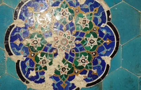 Мозаика в мечети Абди-дарун