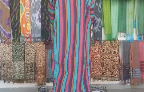Разноцветный Чапан за 50 000 сум ($8)