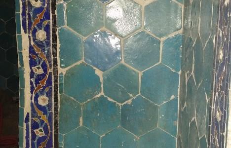 Сохранившаяся мозаика мечети Абди-дарун