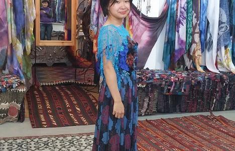 В дизайнерском платье за $80