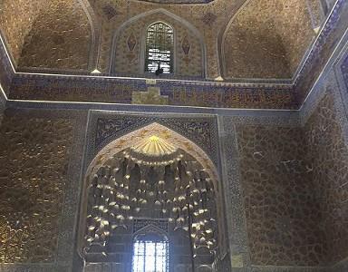 Внутри Гур Эмира
