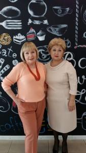 Татьяна Агафонова и Жанна Ан
