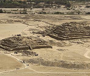 Храм Луны в Перу