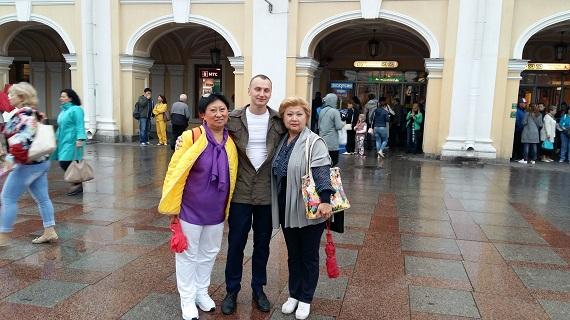 Санкт-Петербург. Юношеская мечта исполнилась. Слава Богу!