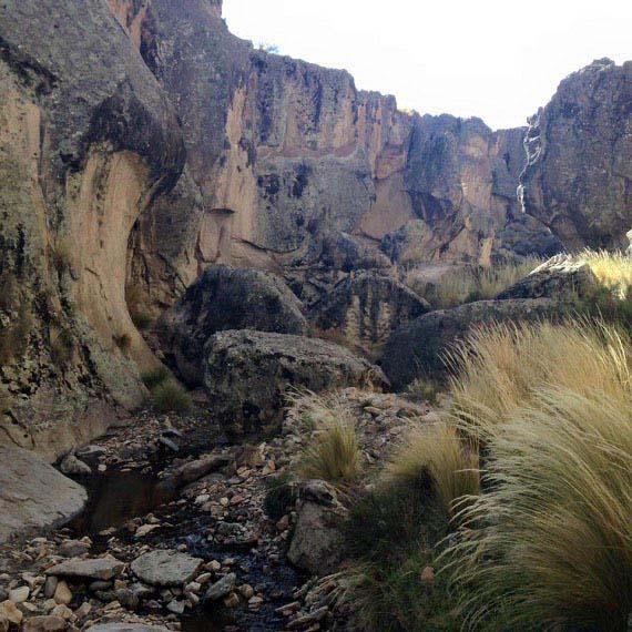 Ущелье возле Арекипы