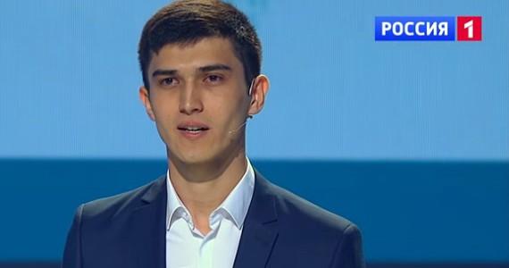 Хусниддин Исмаилов в шоу « Удивительные люди