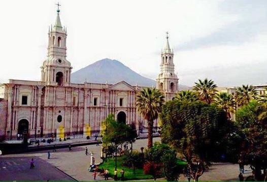 Кафедральный собор на plaza de armas
